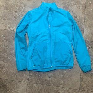 Adidas climalite rain jacket small